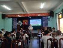 Trường THCS Kim Đồng tổ chức chuyên đề phân luồng hướng nghiệp dạy nghề cho học sinh lớp 9