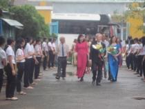 Hoạt động kết nghĩa với trường Trần Mai Ninh thành phố Thanh Hóa