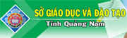 Sở Giáo dục & Đào tạo Quảng Nam